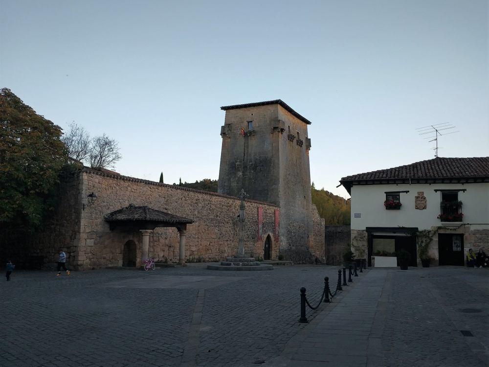 Torreón de Fernán González en Covarrubias