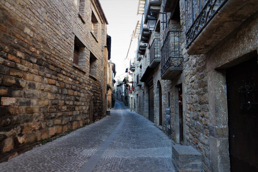 Calles de Aínsa