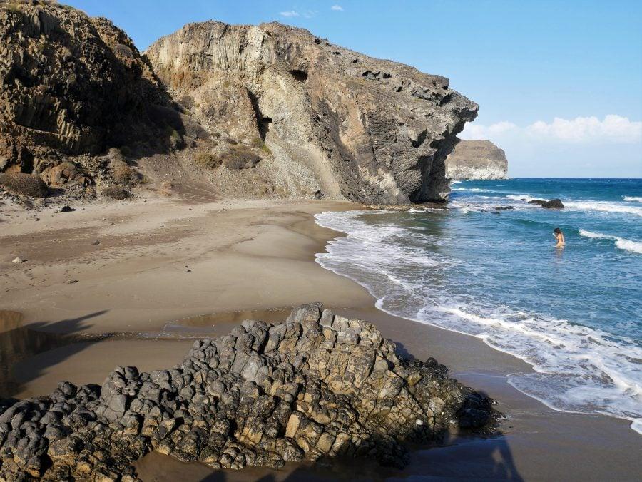 El Lance, playas de Cabo de Gata