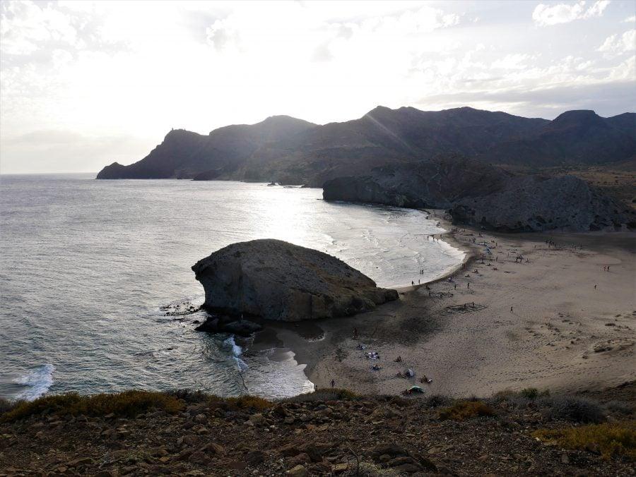 Playa de Mónsul, lugares que ver en Cabo de Gata