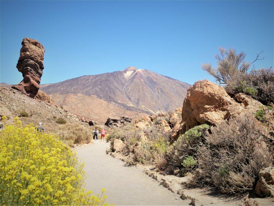 subida al Teide a pie, Tenerife