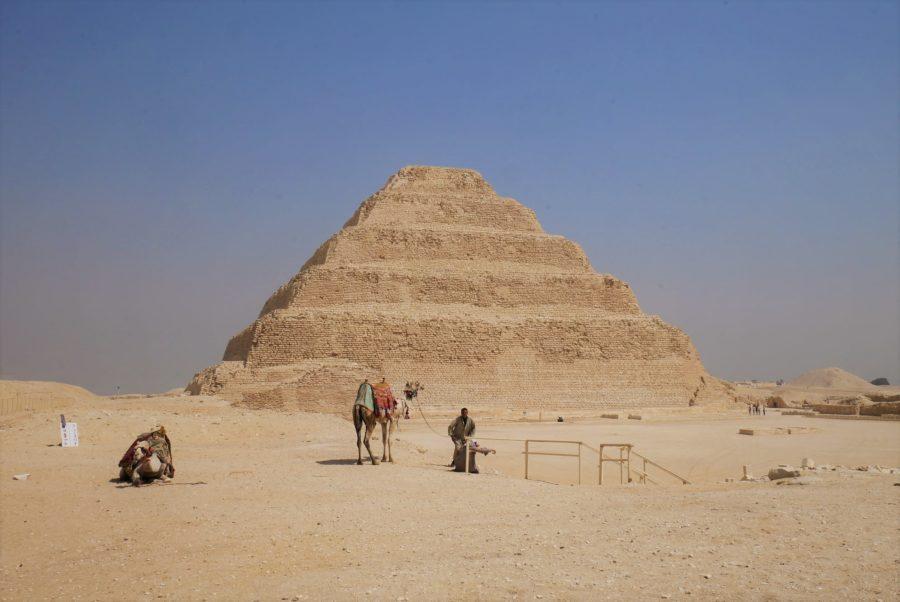 La pirámide escalonada de Zoser, Saqqara