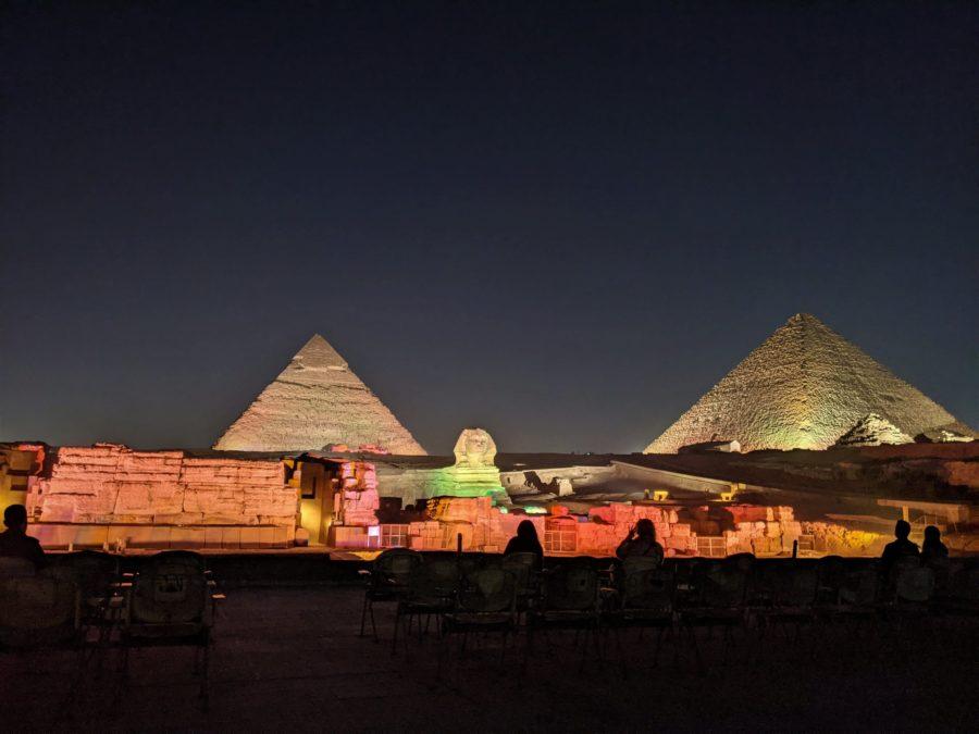 Noche en las pirámides de Guiza, qué ver en Egipto