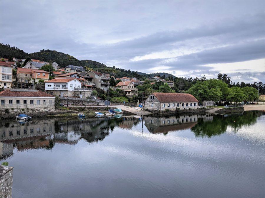 Paisajes marítimos del Camino Portugués