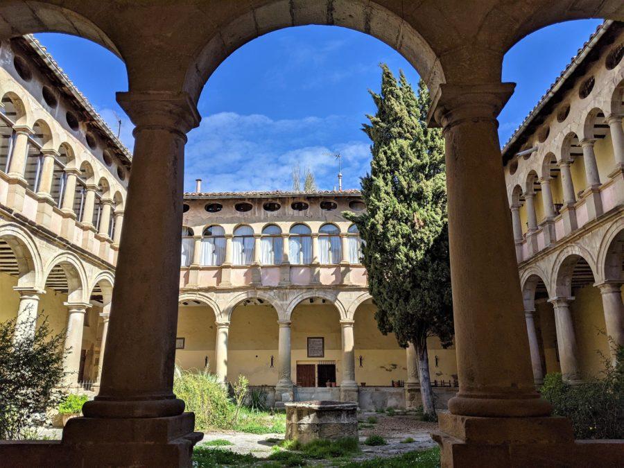 Claustro, Rubielos de Mora en Teruel