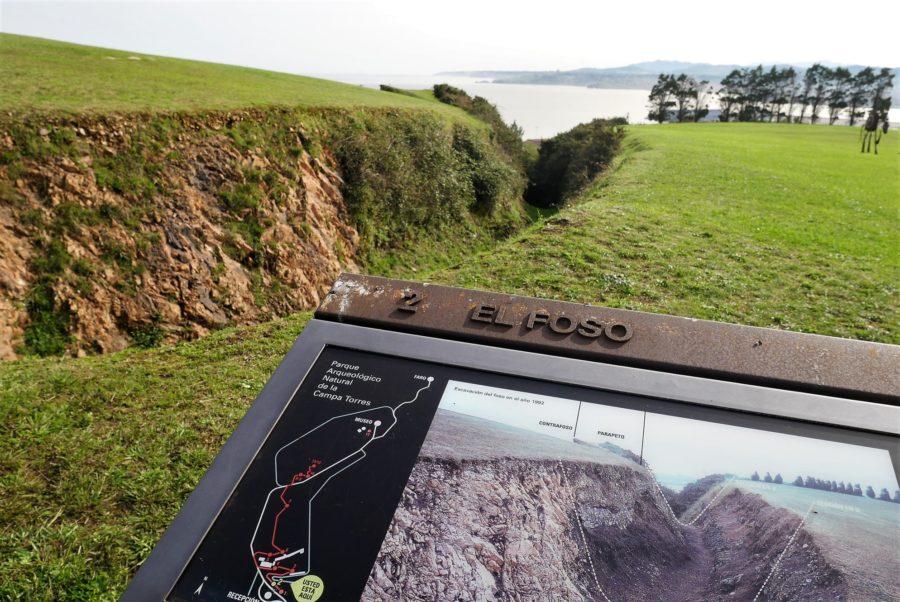 El Foso, Parque Arqueológico Natural de la Campa Torres