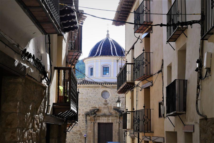 Excolegiata, Rubielos de Mora, ruta por el sur de Teruel