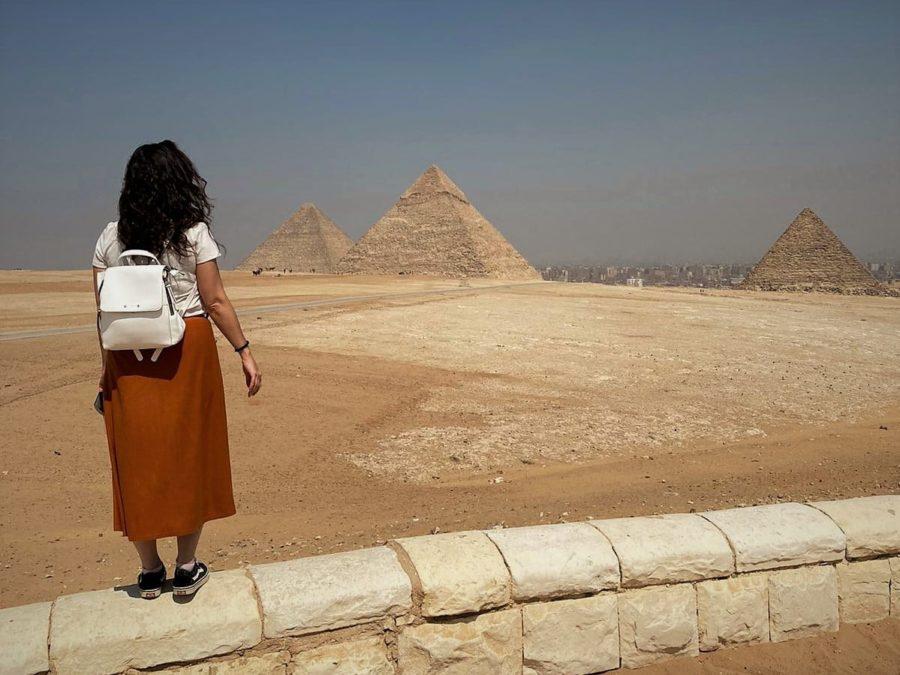 Las pirámides de Guiza, Egipto