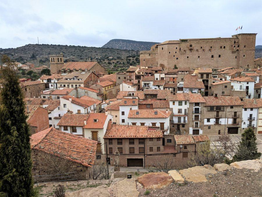 Vista de Mora de Rubielos desde El Calvario