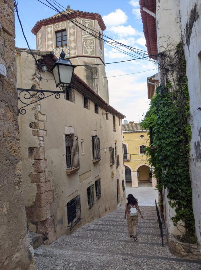 Calle del Forn, qué ver en Altafulla, Tarragona