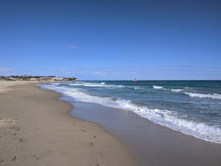 La playa de Altafulla