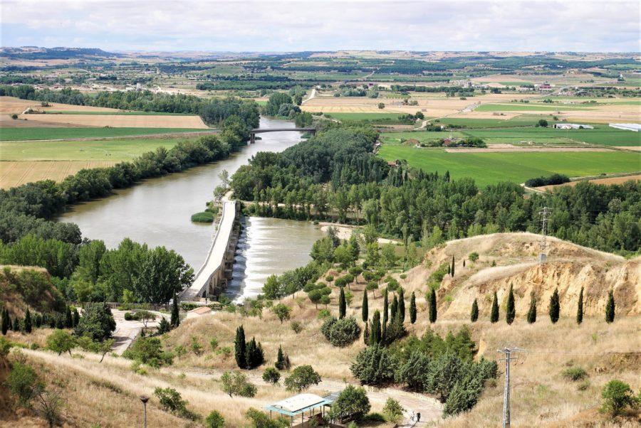 río Duero, ruta del vino de Toro en Zamora