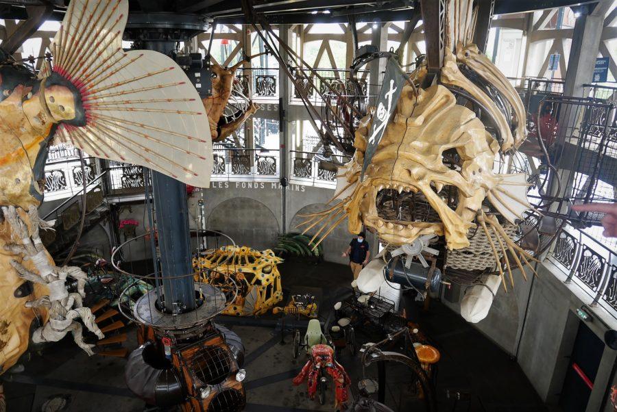 Carrusel de los mundos marinos