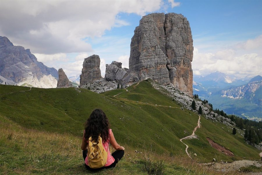 Cinque Torri, senderismo en Dolomitas