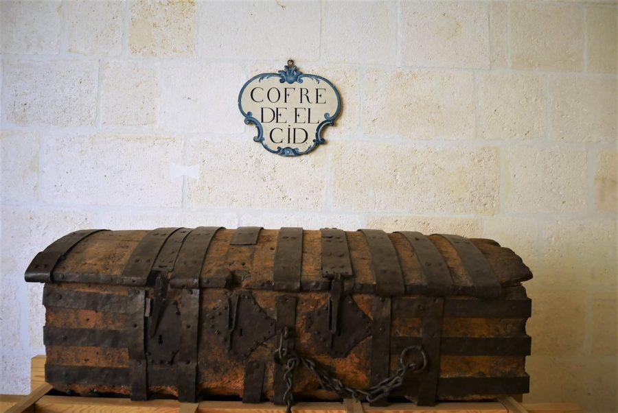 Cofre de Mío Cid, visita a la catedral de Burgos