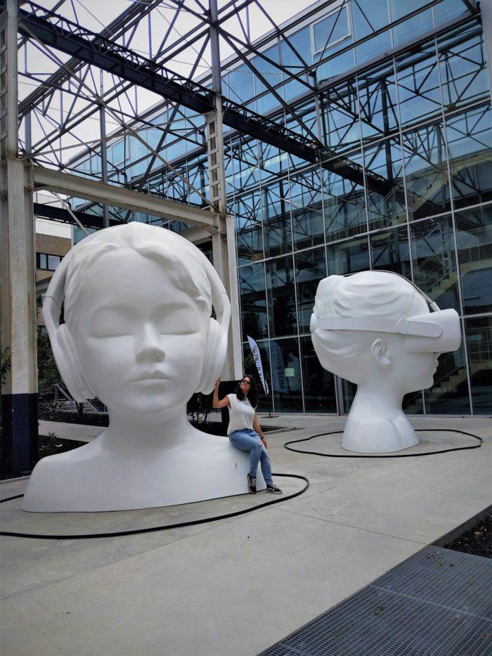 Esculturas en la Isla de Nantes