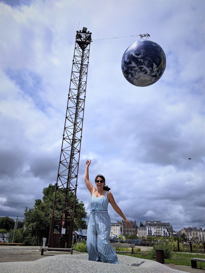On Va Marcher sur la Lune, Isla de Nantes
