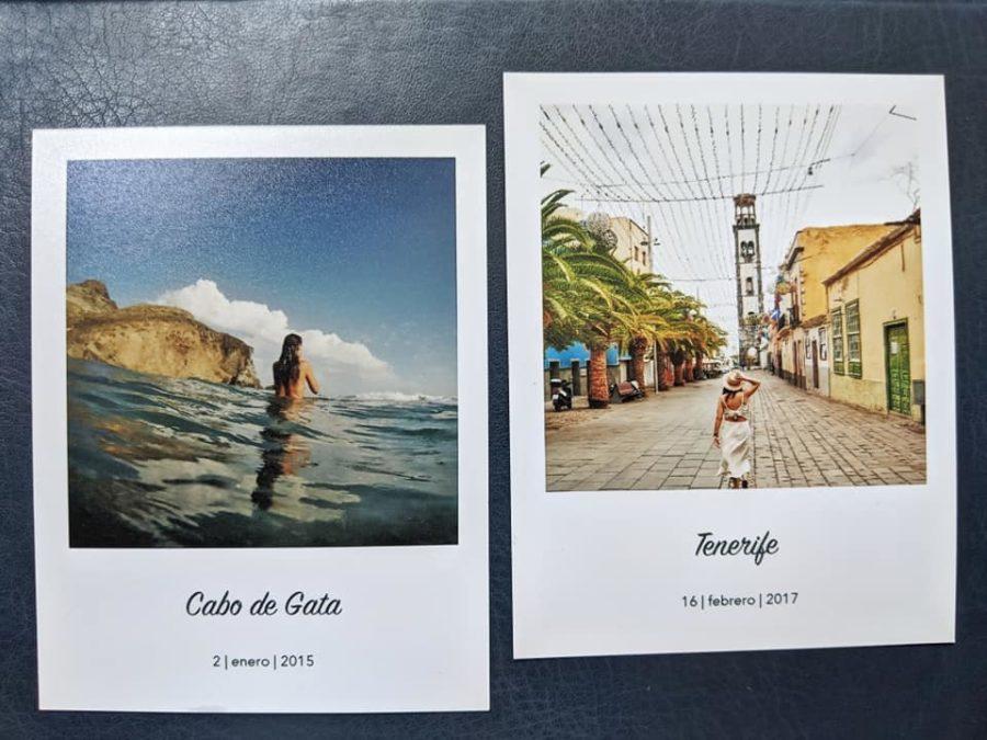 Recuerdos de Cabo de Gata y Tenerife