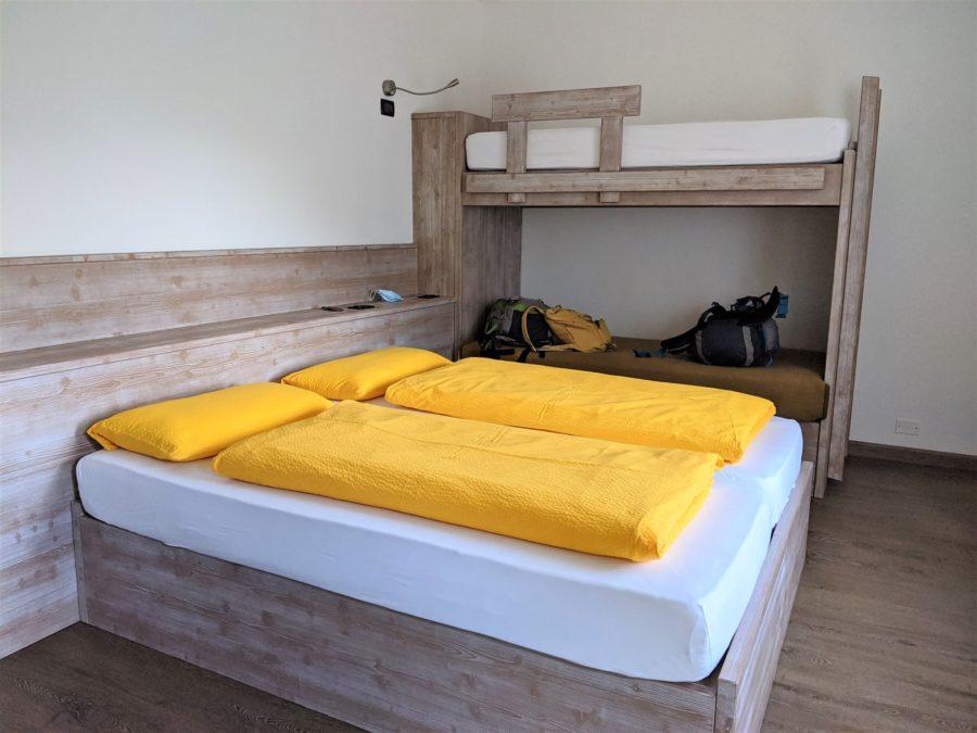 Refugio en Dolomitas