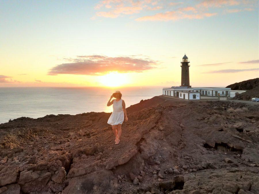 El faro de Orchilla en El Hierro es uno de los faros más bonitos de España
