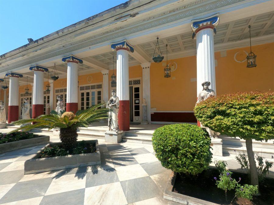 Palacio de Sissí en Corfú