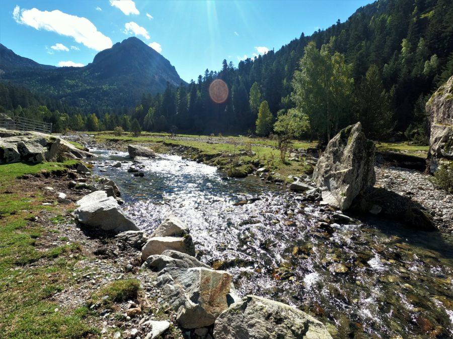 Senderismo en la vall de Boì