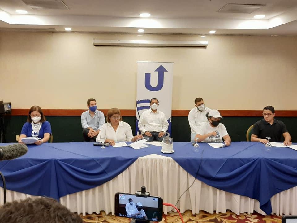 Unidad Nacional Azul y Blanco denuncia las violaciones a los derechos humanos en Nicaragua