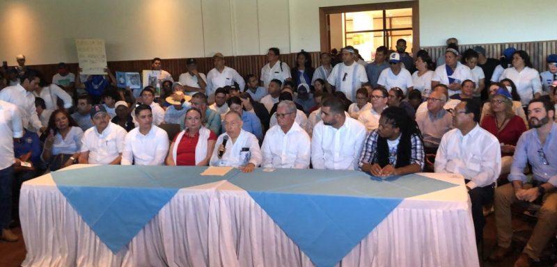 Lanzamiento de la Coalición Nacional, Alianza Cívica abandona Coalición Nacional