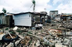 Huracán Joan impacto en Bluefields