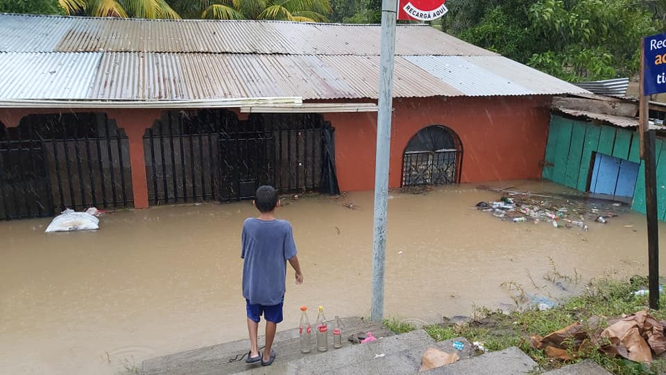 El paso de Eta e Iota por Nicaragua. Cortesía
