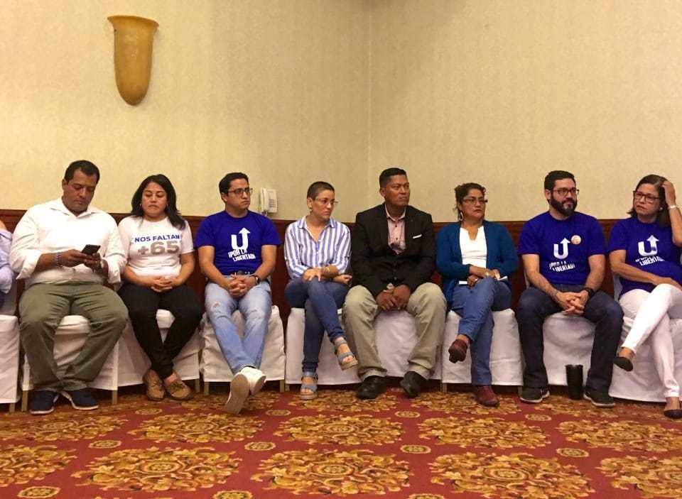 Integrantes del Consejo Político. Cortesía