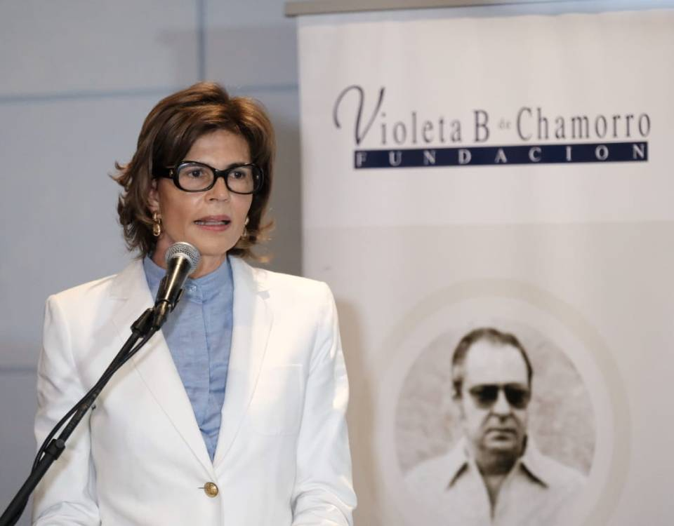 La decisión afecta la labor de promoción, apoyo y defensa de la libertad de prensa en Nicaragua, Cristiana Chamorro