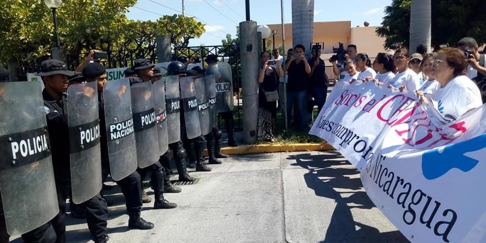 La CIDH llama al régimen de Daniel Ortega a que presente sus observaciones conforme al artículo 30 (3) de su reglamento. Cortesía