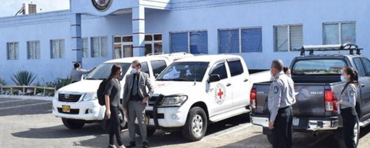 Las capacitaciones tuvieron lugar en la escuela penitenciaria de Nicaragua. Cortesía