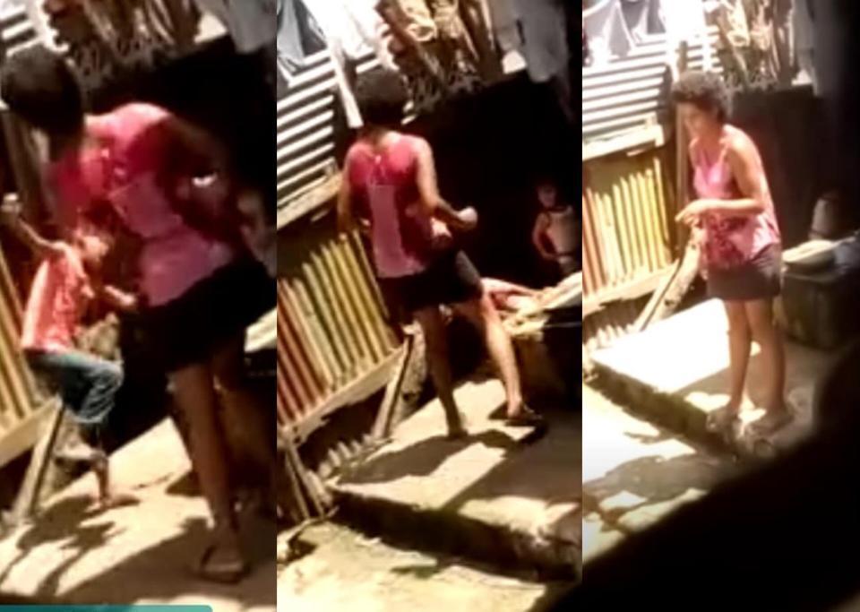 El caso se registró en el barrio Peter Ferrera en Bilwi, Puerto Cabezas. La Costeñísima/ Cortesía 100% Noticias.