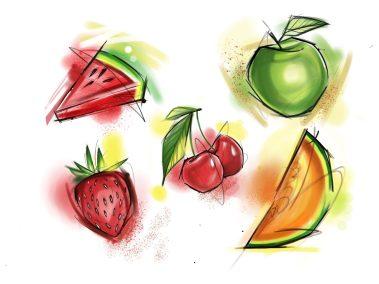 Flash fruits fait Loreen