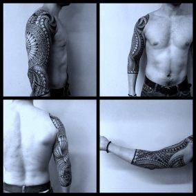 Tatouage Maori fait Par Brice