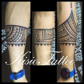 Tatouage Samoan fait par Kisio