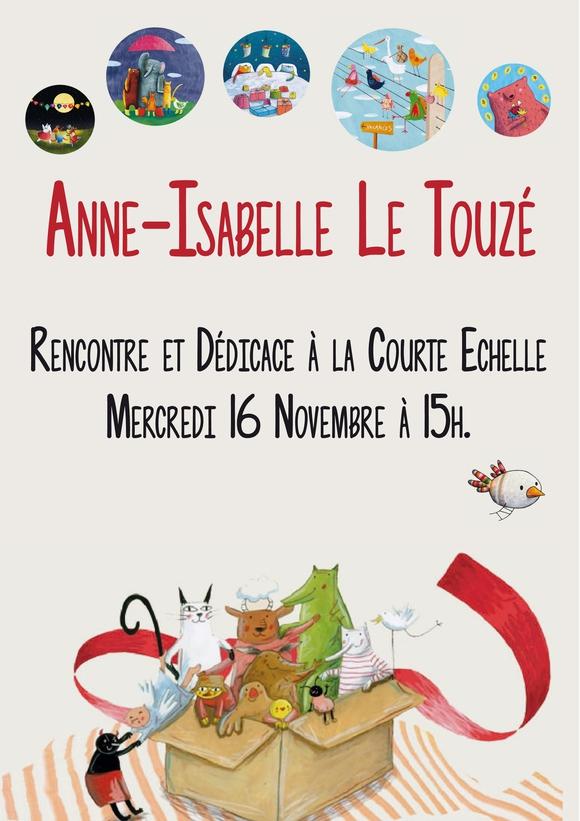 anne-isabelle le touzé, la courte échelle, illustration