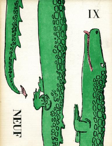 les larmes de crocodile andré françois publication dans Neuf par Robert delpire.png
