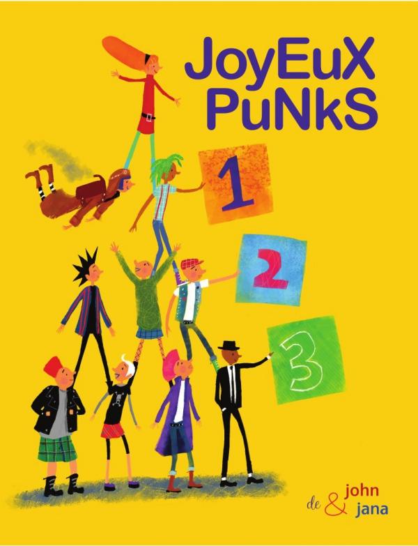 les joyeux punks, album à compter, goater