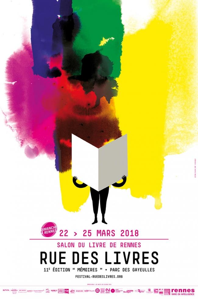 rue des livres, rennes, littérature, festival