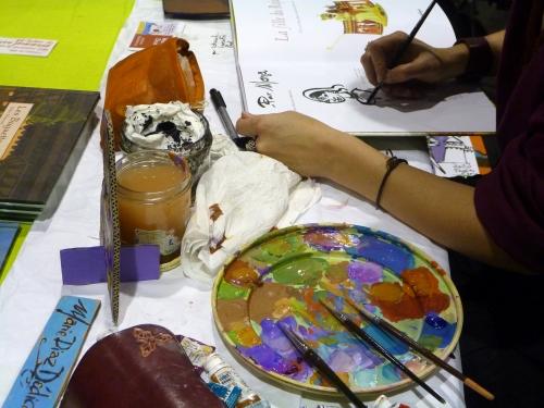 Crayons et couleurs Salon du Livre Fougères 2010 025.JPG