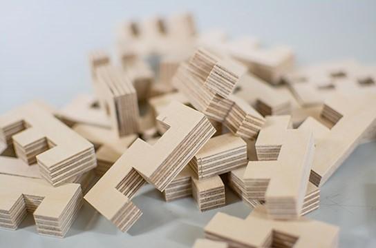 Pièces de construction Cloze