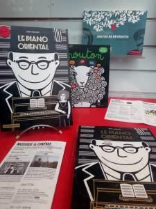 Mercredi 12 février, Le Piano Oriental aux Champs-Libres – Lecture musicale dessinée