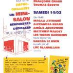 Annulation Rue des Livres – Les autrices et auteurs jeunesse font salon vendredi 13 et samedi 14 à la librairie.