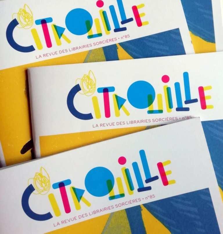 Citrouille, la revue des Librairies Sorcières
