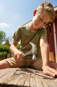 Les outils Terra Kids de Haba, pour bricoler dehors et dedans