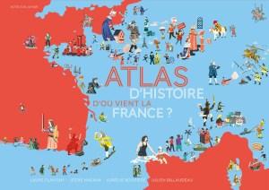 Atlas d'histoire, D'où vient la France ?, publié aux éditions Actes Sud Junior – 3 questions à Jessie Magana, co-autrice.