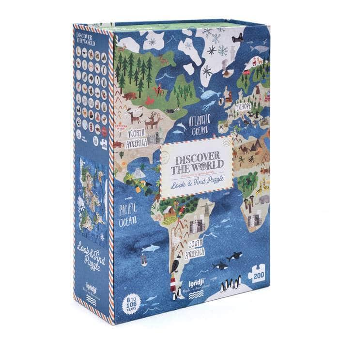 Puzzle Découvre le monde, 200 pcs, Londji